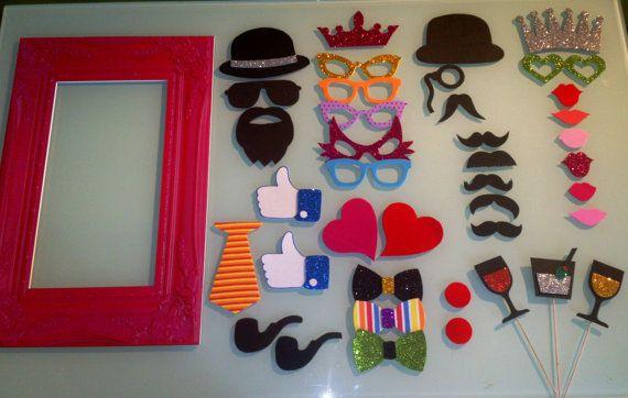 Pack marco vintage peque o mas 40 accesorios de for Accesorios de decoracion