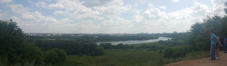 View from Kolomenskoe on Moscow. The last trip I went on, during my 2 years stay in Moscow... I will miss it here...