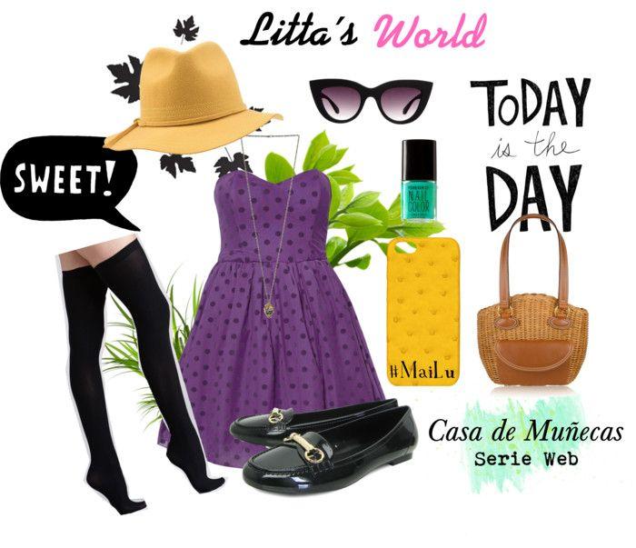 ¿te gusta el #outfit de Luciana en un día soleado?  #casademunecas #littatv #MayLu
