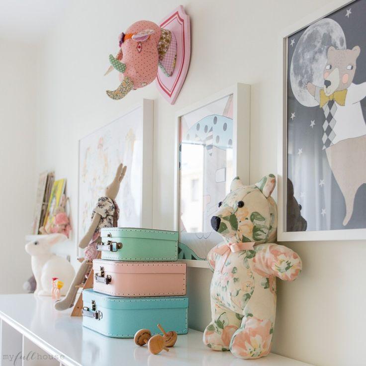 pokój dziewczynek - Dekoracje, Dla dzieci, Duński design, Ferm Living, Flexa, IKEA