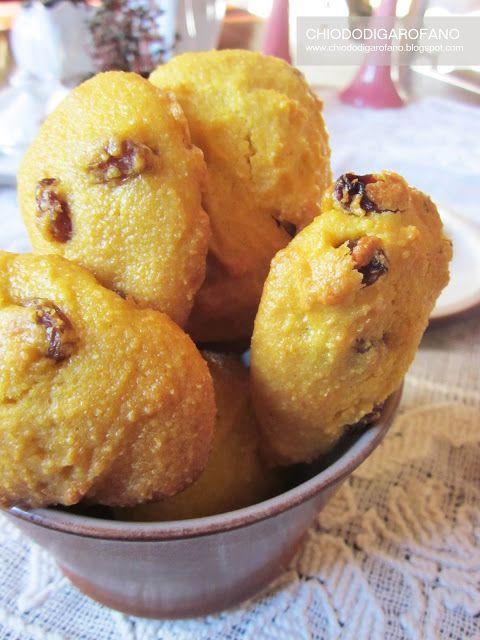 GIALLETTI biscotti alla farina di mais e uvetta