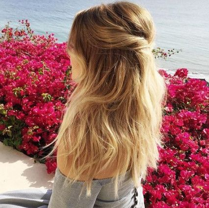 Marriage ceremony hairstyles half up half down lengthy lauren conrad 22 New concepts