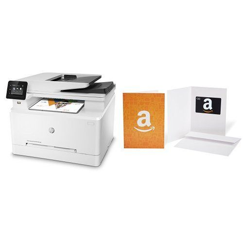 HP LaserJet Pro M281fdw All in One Wireless Color Laser Printer and Amazon.com Gift Card - HP LaserJet Pro M281fdw All in One Wireless Color Laser Printer and Amazon.com Gift Card