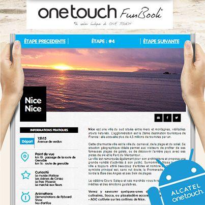 Les animations du jour ? Le lieu et l'heure de départ ? Les curiosités à visiter ? Découvrez les bons plans de ONE TOUCH pour préparer votre étape sur le #TDF ! http://www.facebook.com/letourenonetouch    #ONETOUCH ;-)