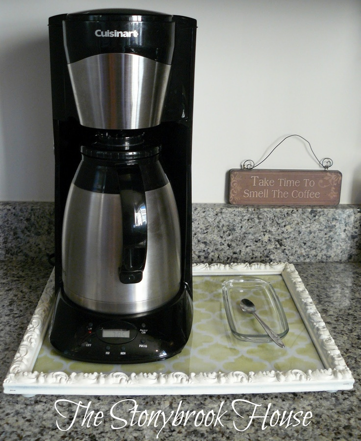 DIY Sliding Coffee Tray Coffee maker, Trays and Coffee tray