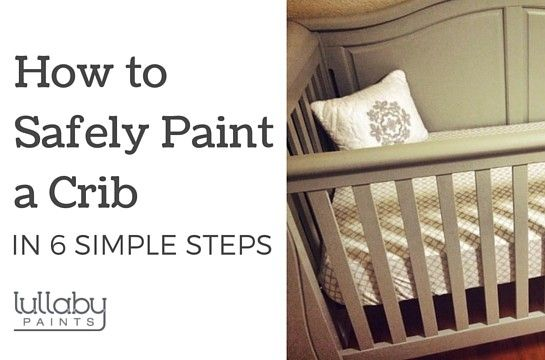 Because natural wood cribs seem to be cheaper, but I want a painted one...
