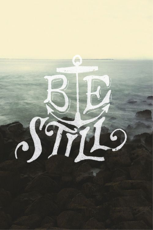 Be still. Based on Psalm 46:10. A collaboration between Sean Tulgetske (@two_jet_skis) and Cubby Graham (@Cubby Graham).