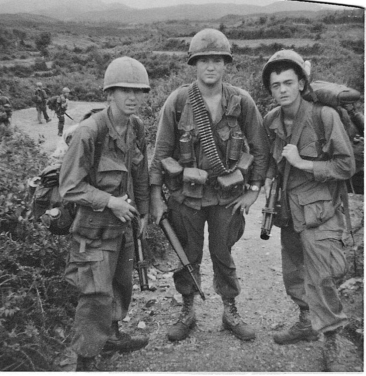 Men of the 6th Infantry, 198th Light Infantry Brigade ...