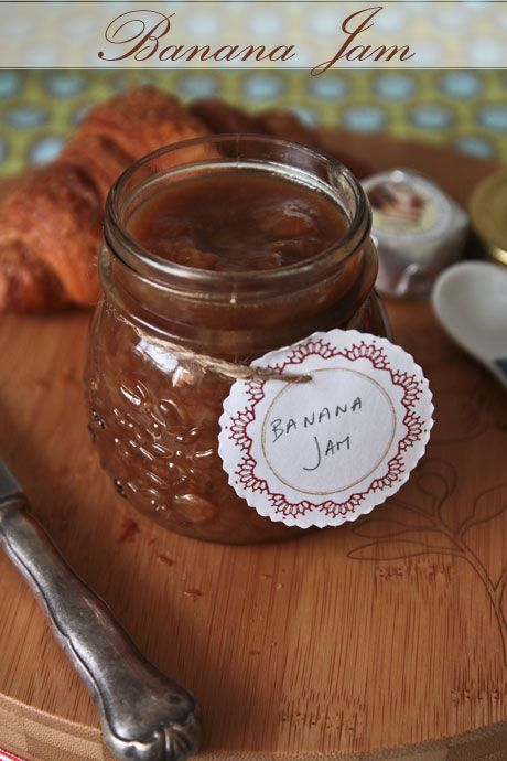 Brown Sugar Banana Caramel Jam...OMG!!! How perfect : )