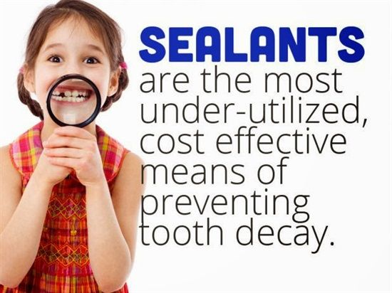 Dentaltown - Dental sealants are the most under-utilized, cost effective means of preventing tooth decay. Dental sealants (also termed pit and fissure sealants, or simply fissure sealants) are a dental treatment intended to prevent tooth decay. Teeth have recesses on their biting surfaces; the back teeth have fissures (grooves) and some front teeth have cingulum pits.