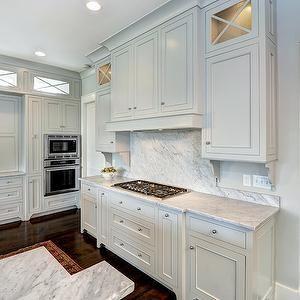 hidden kitchen transitional with - photo #5