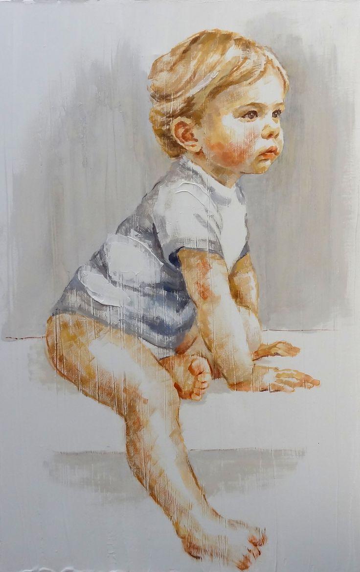 retrato niño-M. Isabel Barros Alcalde