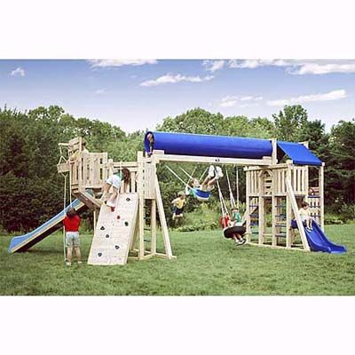 48 best images about diy play structures on pinterest for Diy play structures backyard