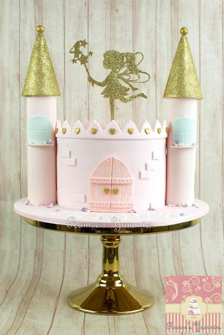 Fairy Castle Cake  http://rameesyummies.com.au https://www.facebook.com/rameesyummies