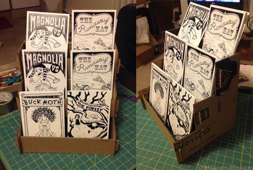 DIY comic display