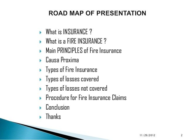 Image Result For Fire Insurance Presentation Presentation Types