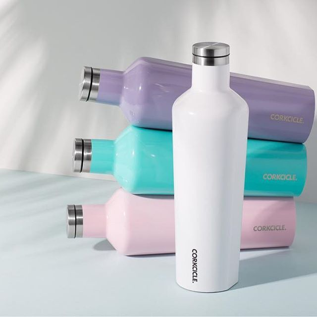Your new favorite spring accessory in playful pastels. #Corkcicle