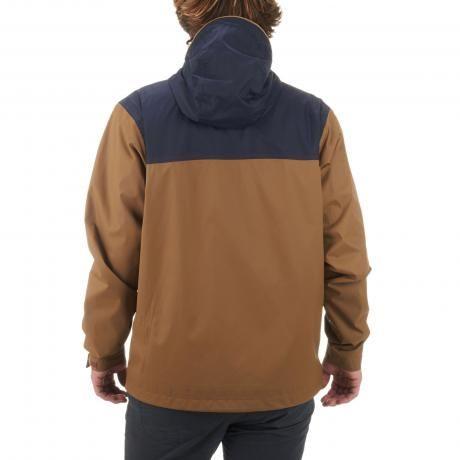 quechua Veste Arpenaz 100 Homme Marron/Bleu 8331667