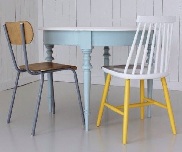 Måla stolar