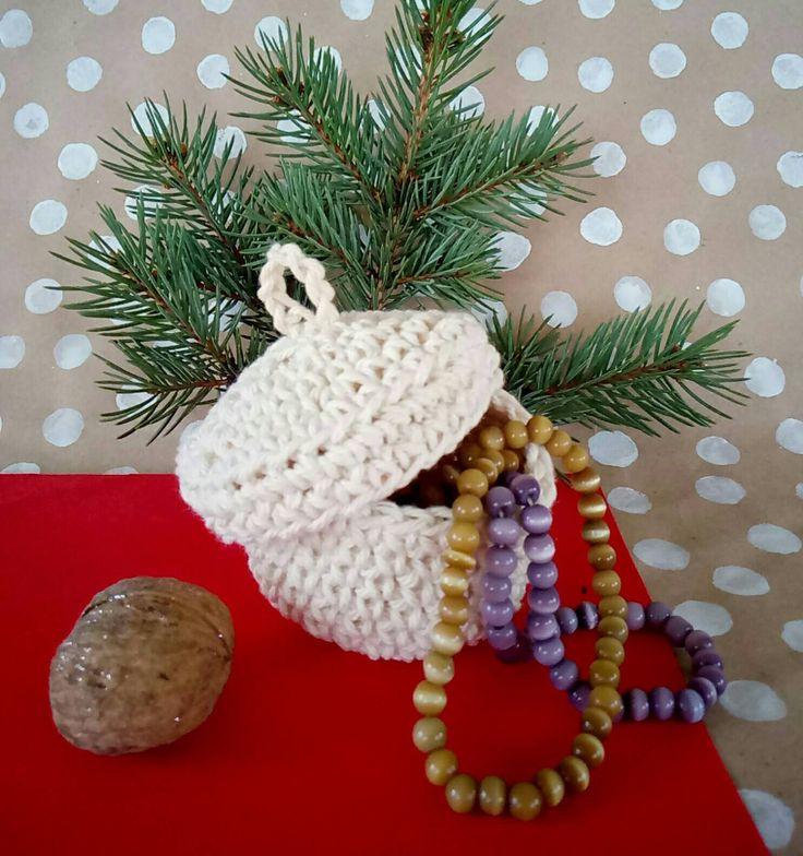 box jewelry , Knitted box,  Christmas gift,  present for women, small box, jewerly box,  storing jewelry,  box cotton, girls jewerly box, by CuteGiftStudio on Etsy