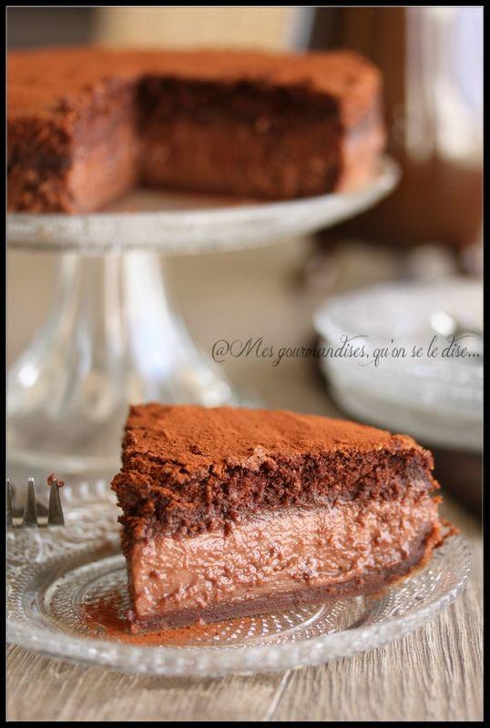 Gâteau magique au chocolat: 1 seule préparation pour trois couches!