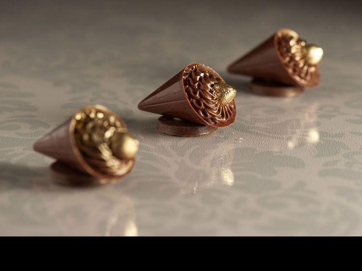 Giuliana Pimenta Bem Casados e Doces Finos | Doces para Casamentos--Cone de Nutella