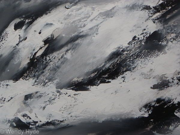 2016 Winter Series, website of Wendy Hyde, Abstract art Oil on Canvas Contemporary