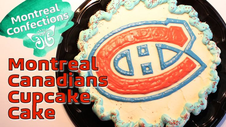 How to make a Montreal Canadians cake ~ Montreal Confections