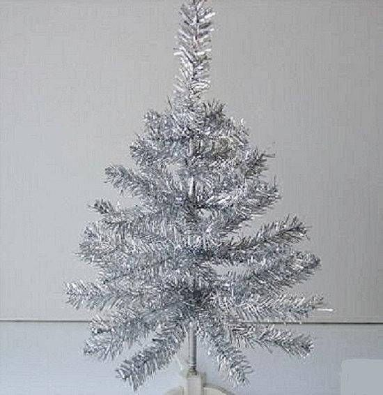 Silver Tinsel Christmas Tree With Color Wheel: 20 Best Mobile Home Christmas Ornament Images On Pinterest
