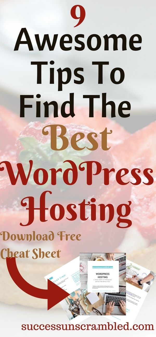 Have you ever wondered how to go about choosing the best Wordpress hosting for your blog? Here are 9 Awesome Tips To Find The Best WordPress Hosting today. #wordpress #hosting  #website #bloggingtips #blogging