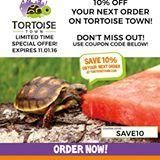 TortoiseTown's 10% off sale ends 11/1!  www.TortoiseTown.com #redfoot #watermelon #petturtle #tortoisetownusa #redfootedtortoise #cherryheadtortoise #pets #petsofinstagram #tortoise#tortoises#tortoisesofinstagram #turtlesofinstagram #chelonian #exoticpet