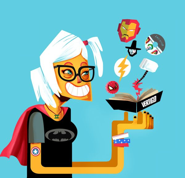 Geek Pride Day by Leo Natsume, via Behance