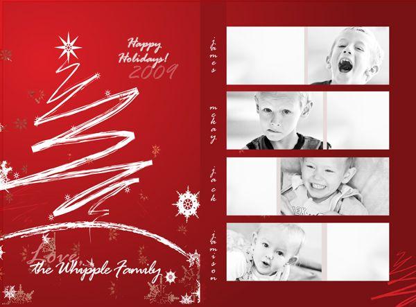 FREE Christmas Card Design PSD