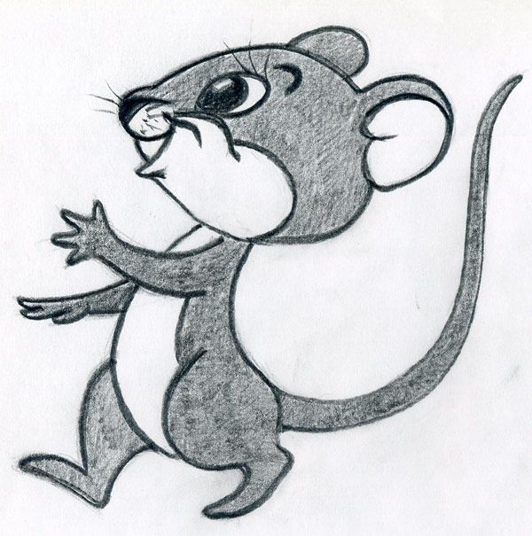 Pencil Drawing Images Cartoons: How To Draw Cartoon Mouse, You Will Enjoy This! In 2020
