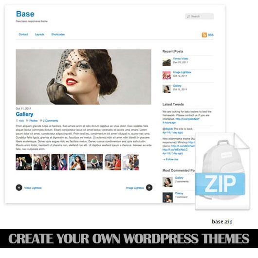 Create your own WordPress Themes – 30 WordPress Theme Tutorials