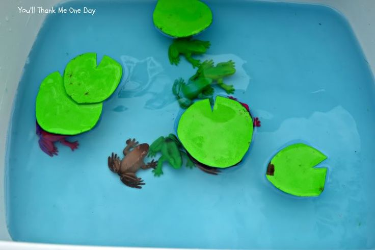 how to make a lily pad out of paper