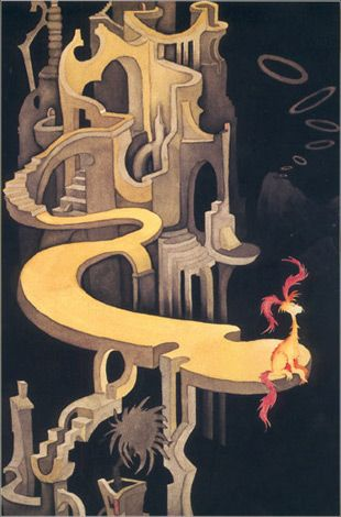 Dr. Seuss: Secret Art, Artists, Pink Tufted, Dr. Seuss Artworks, Art Museums, Night Landscape, Tufted Beast, Small Beast, Dr. Suess