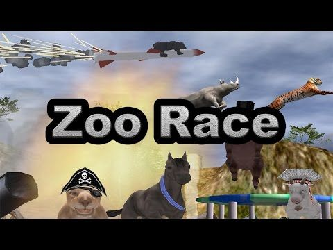 "Zoo Race - LET""S GET BROKEN TOGETHER"