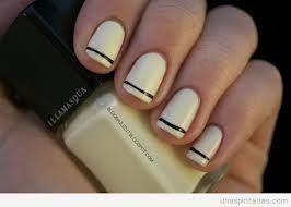 decoracion de uñas elegantes y sencillas -