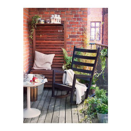 Ikea - Can you believe it?!  VÄRMDÖ Rocking chair IKEA You can use the wooden furniture both indoors and outdoors.   $129