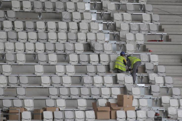Nouveau stade de Bordeaux : découvrez les dernières photos du chantier