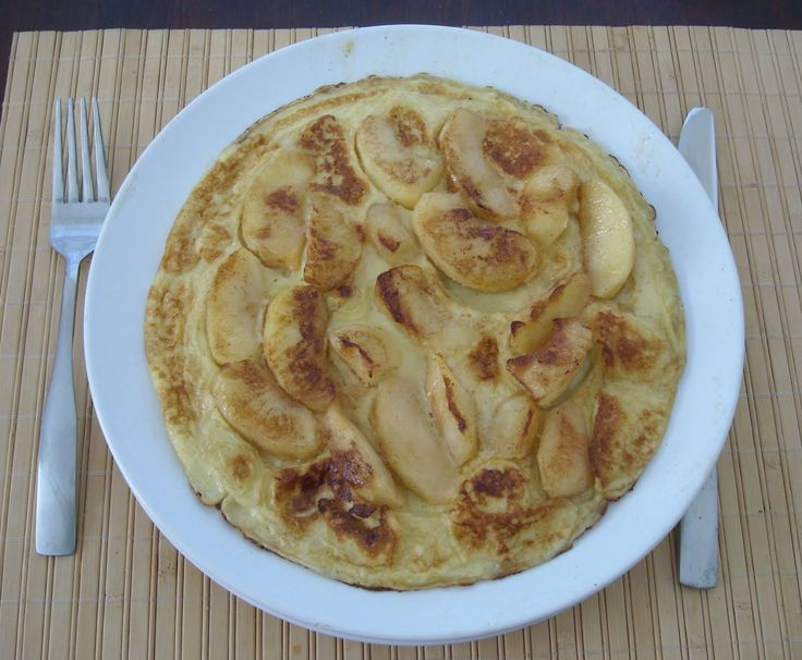 Apple Pancakes - German Recipes - German Food @ My Best German Recipes