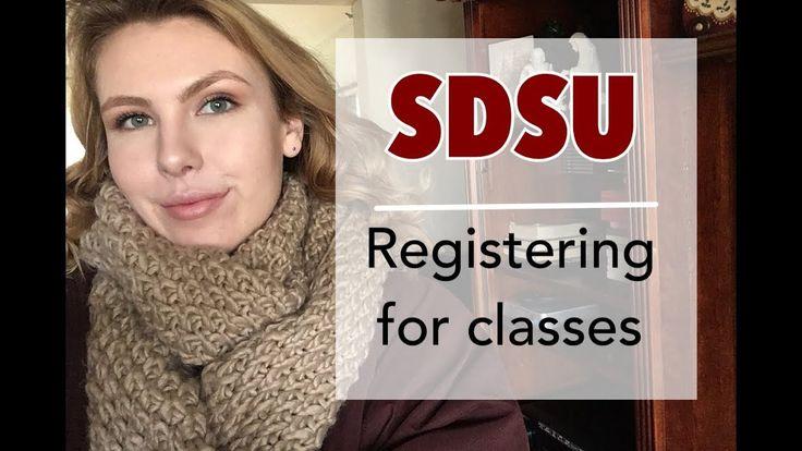 SDSU | Registering for classes - YouTube