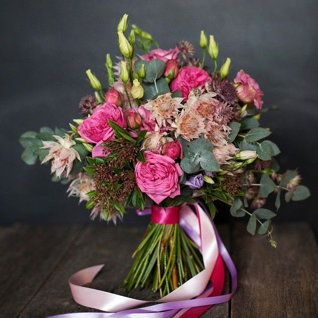 peony roses bouquet / wedding / handmade / bouquet spb