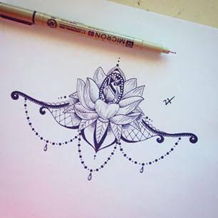 sternum tattoo underboobs designs - Hledat Googlem