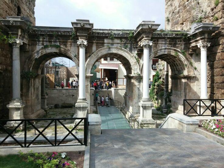 Hadrians Tor in Antalya, Türkei