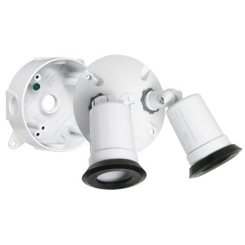 Hubbell Taymac LT233WH Traditional Outdoor Flood Light Kit