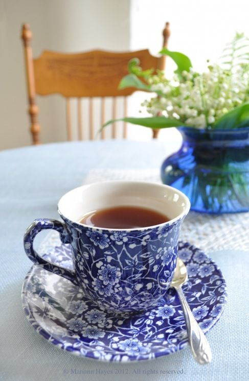 Sue.  A great teaset story also.  Blue Calico