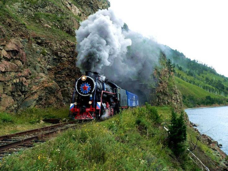 Travel to Russia in a classic style Trans Siberian Railways.  #romantictravel