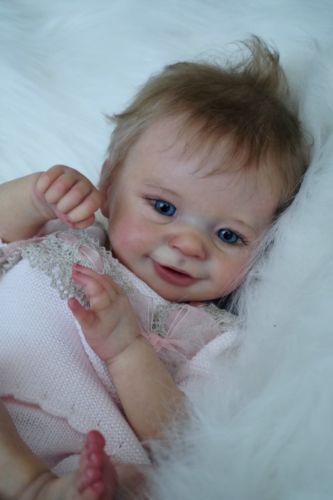 Reborn baby doll Sunny limited sold out (skulpt Joanna Kazmierczak)